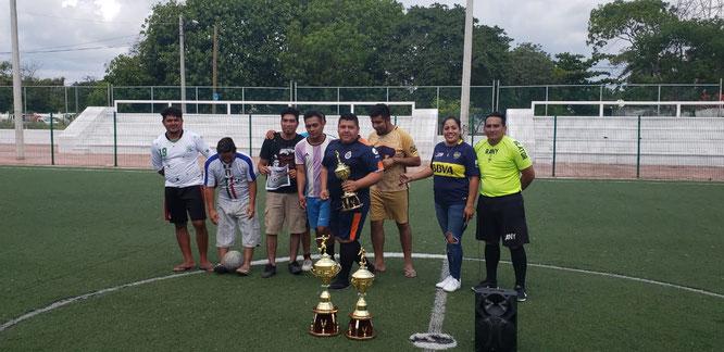 El equipo de Tigres logró ganar el tercer lugar.