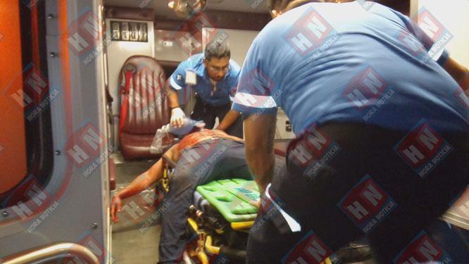 El lesionado resulto con dos heridos de arma de fuego en el cuerpo.