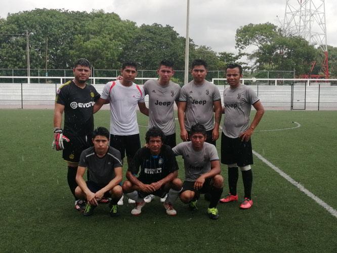 Jugadores el equipo de Jaguares.