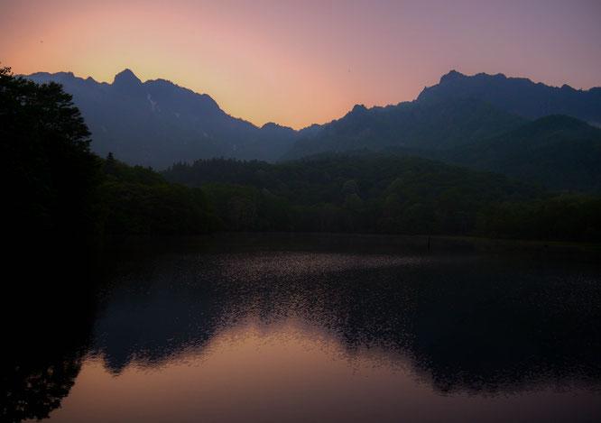 mt togakushi mirror lake