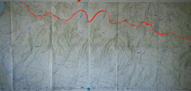 Niseko 7 peak crossing