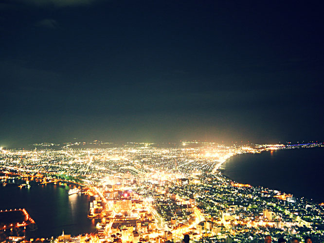Mt hakodate night view
