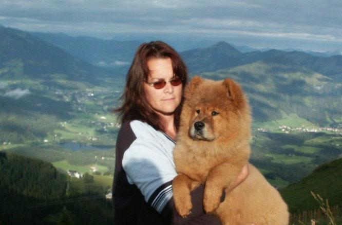 Shiwa mit 4 ½ Monaten (Sommer 2002)