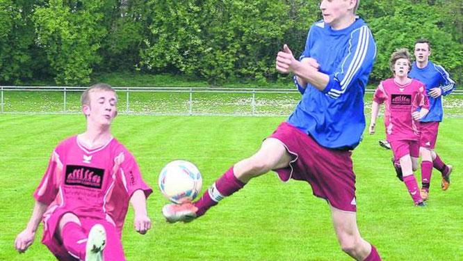 Die JSG Fehmarn hat seine B II vom Spielbetrieb in der Kreisliga abgemeldet. Zuletzt standen nur noch 18 Spieler für zwei Mannschaften zur Verfügung. ·© Foto: Lars Braesch