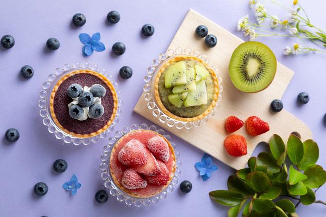 ゆふいんここる アイスタルトケーキの写真