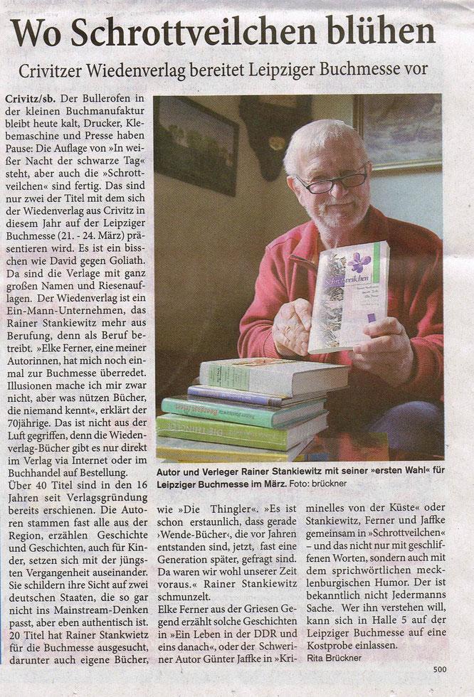 Leipziger Buchmesse Elke Ferner