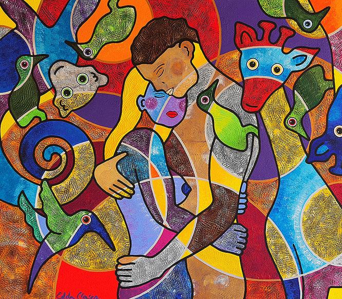 Edda Clasen, contemporary art, arte contemporáneo, zeitgenössische Kunst