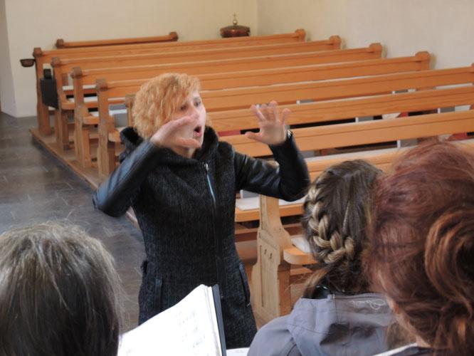 Vera Prantl-Stock – Chorleiterin