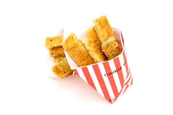 Anleitung für Cookie Fries. Food Trend aus den USA.