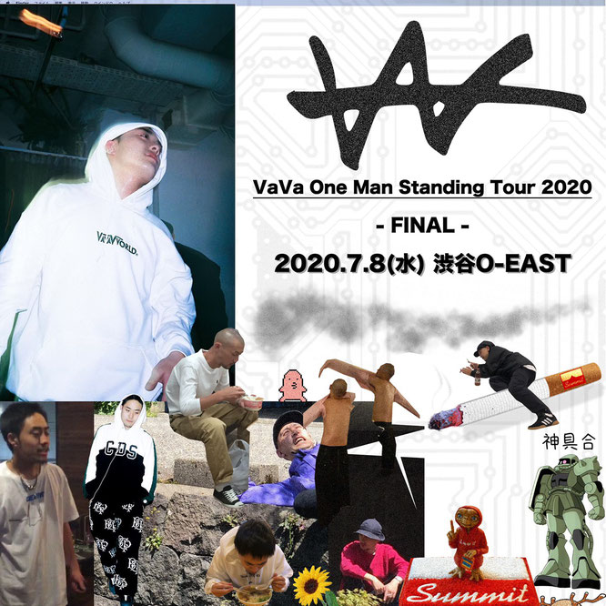 VaVa One Man Standing Tour 2020