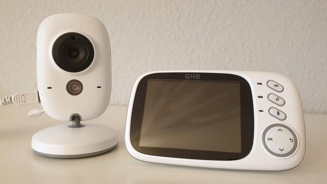 GHB Babyphone 3,2 Zoll Smart Baby Monitor - Testbericht - Titelbild