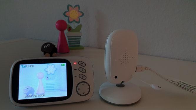 GHB Babyphone 3,2 Zoll Smart Baby Monitor - Lichtempfindlichkeit