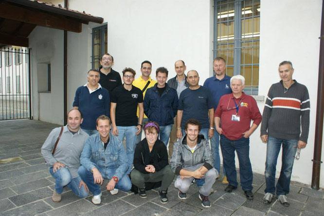 Foto di gruppo dei concorrenti 2014