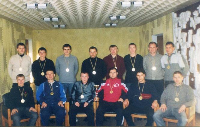 """""""Арсенал"""" г.Джанкой Чемпион Джанкойского района 2004г."""