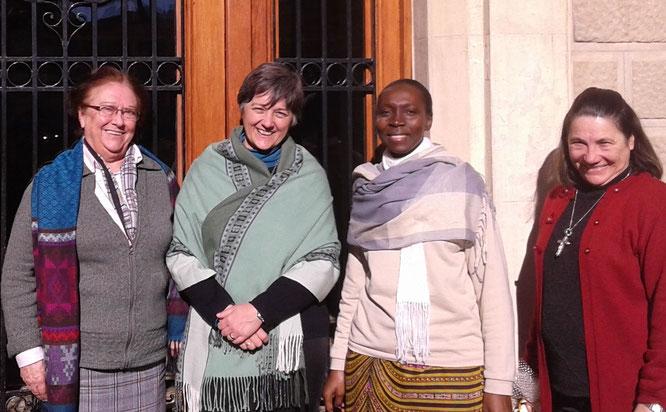 Nuria Bayo, Norma Micolini, Marie Béatrice Mbengue, Rosãngela Maria Altoë