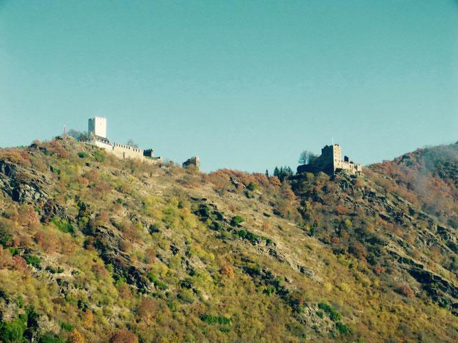 Die feindlichen Brüder...Burg Sterrenberg und Burg Liebesstein