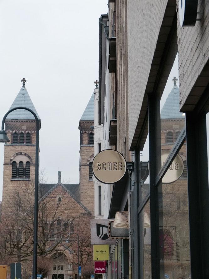 Schön shoppen im  Schee im Belgischen Viertel.