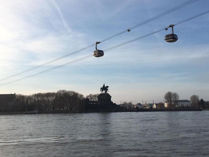 Koblenz - Das Deutsche Eck und die Seilbahn
