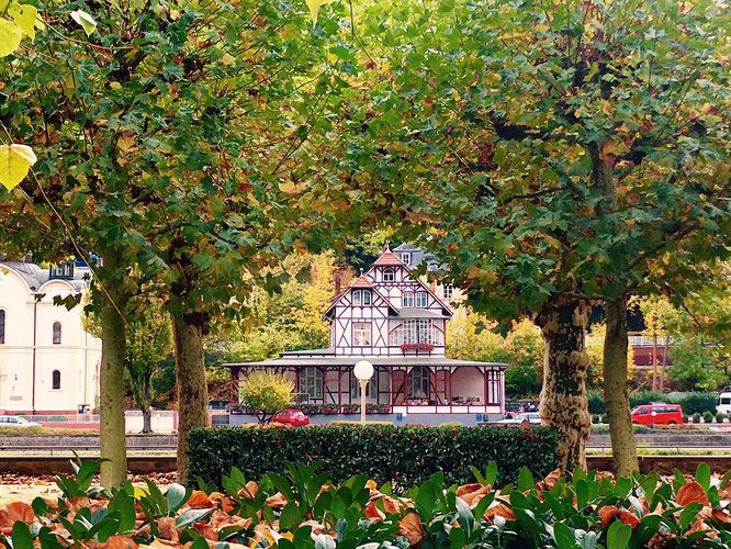 Villa Kunterbunt in Bad Ems. Wunderschön!