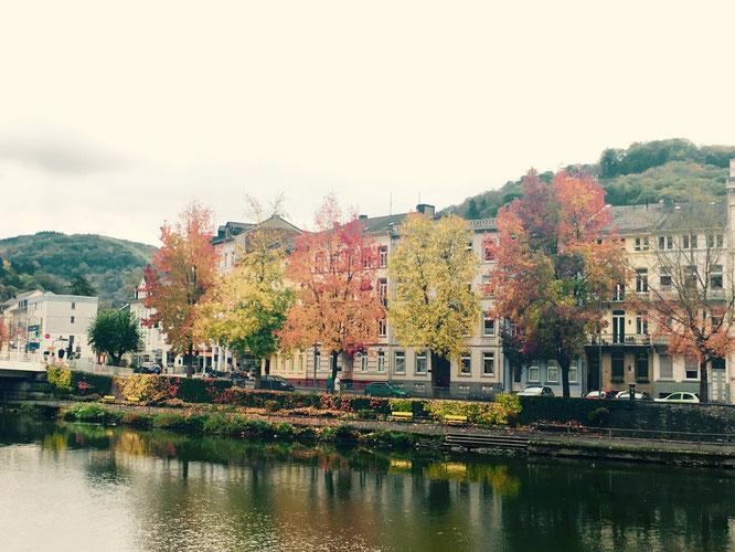 Was ein Herbst-Arrangement am Ufer der Lahn in Bad Ems!!
