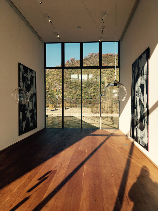 flux4art im Museum Boppard - Kunst mit Rheinblick