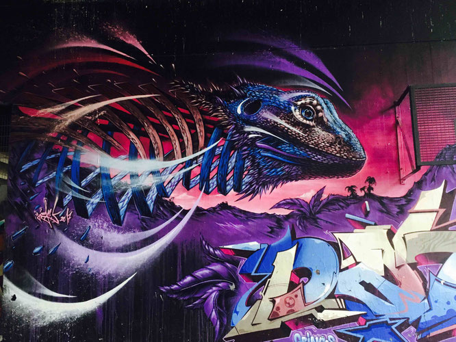 Hall of Fame - Streetart-Tour durch Koblenz