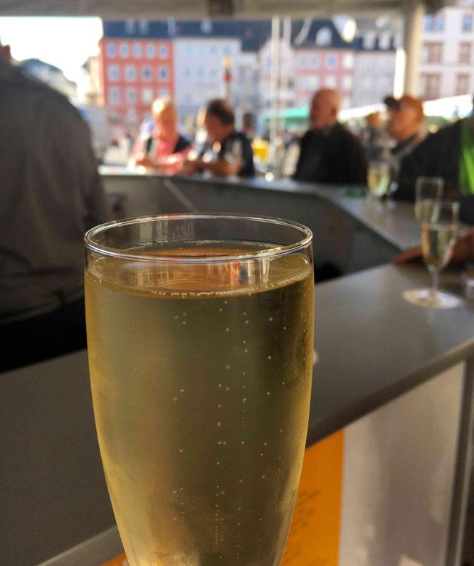 So einen Weinstand wie in Trier hätte ich auch gerne in Koblenz.