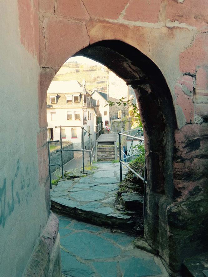 Tolles Ausflugsziel: Die begehbare Stadtmauer in Oberwesel