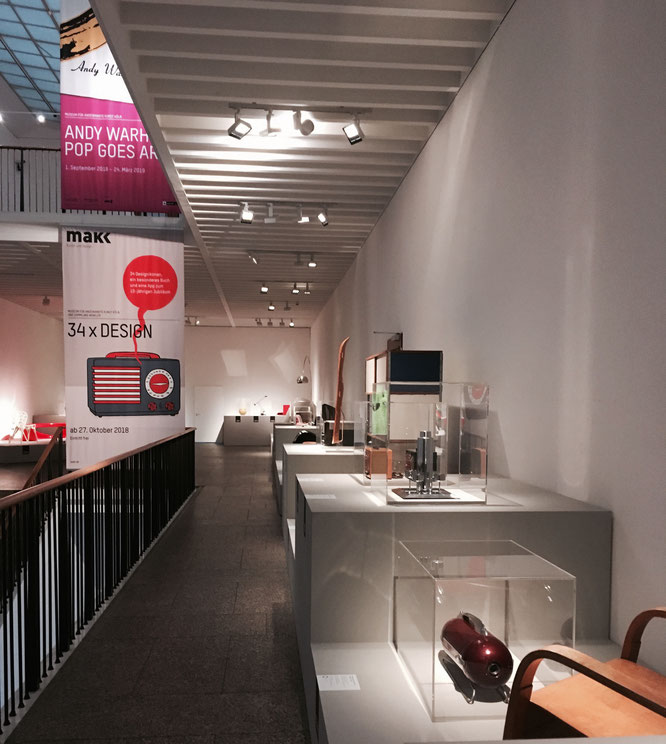 34 x Design im MAKK - Design-Klassiker aus 100 Jahren Design-Geschichte
