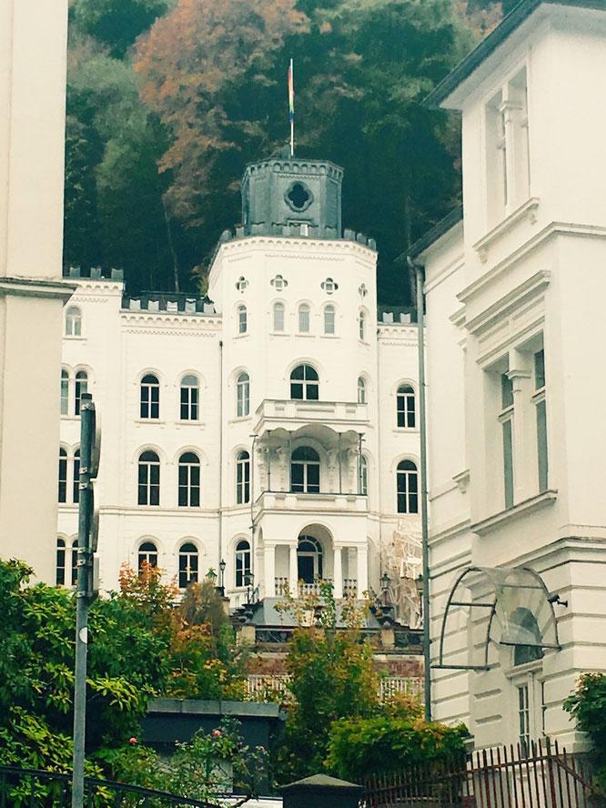 Wunderschön! Das Künstlerhaus Schloss Balmoral in Bad Ems.