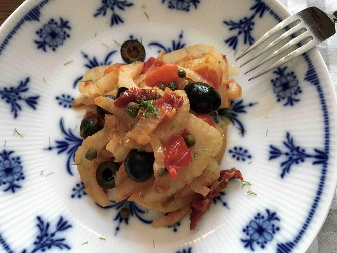 Fenchelgemüse auf Italienisch - www.dolcevita-gesucht.de