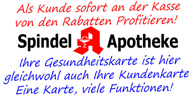 Jetzt Rabatt sichern - spindel-apotheke-hofs Webseite!