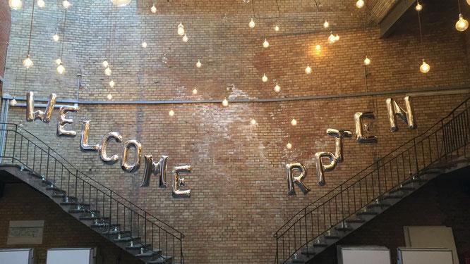 Willkommen auf der re:publica