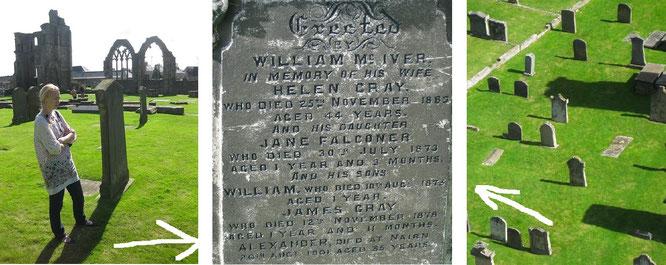 Tragedy and Mystery, Part II: eine der tragischsten Familien-Chroniken meiner Friedhofsbesuchs-Laufbahn...