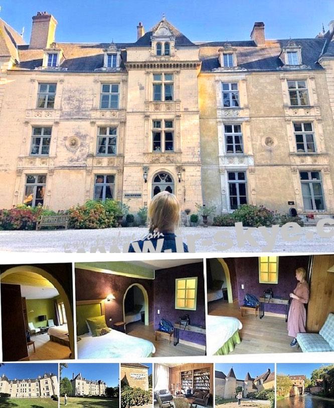 Château de Villeray/Domaine de Villeray, 61110 Sablons-sur-Huisne, Département Orne (48° 23′ 6″ N, 0° 50′ 1″ E)...