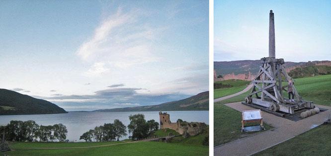 Loch Ness, Urquhart Castle...