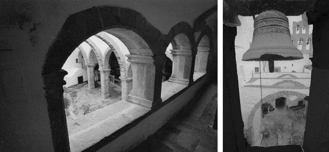 Bollwerk: Johanneskloster (Monastery of Saint John the Divine/Monastery of Saint John the Theologian), Patmos (37° 18′ 33.08″ N, 26° 32′ 52.99″ E)...