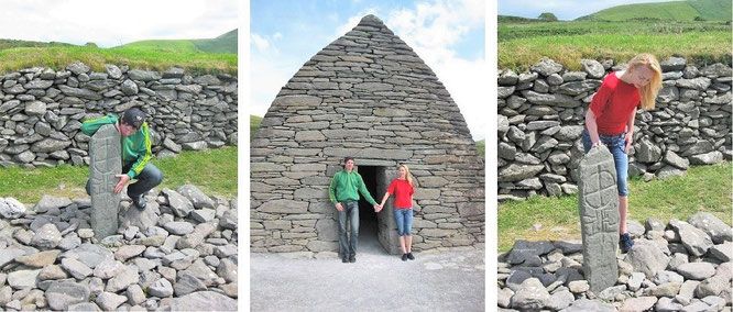 """colum mac dinet. My location: Gallarus Oratory (780 AC/52´10´21´N…), Republic of #Ireland #Eire #WildAtlanticWay."""