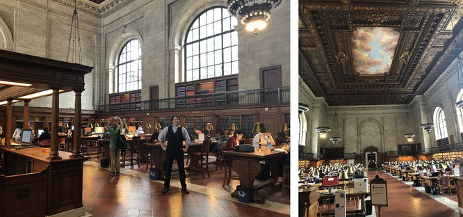 """Beliebter Aufenthaltsraum: die """"Reading Rooms"""" internationaler Bibliotheken..."""