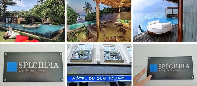 """Bestätigt: """"Splendia - Die besten Luxus- & Boutique-Hotels der Welt."""" Hier in Paris (unten)..."""