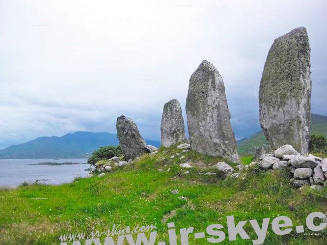 Steinreihe von Eightercua - eines meiner früheren Werke. Die Wetterbedingungen sind identisch...
