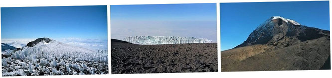 Kilimandscharo-Massiv, Tansania (3° 4′ 0″ S, 37° 21′ 33″ E)...