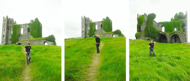 Ballycarbery Castle...