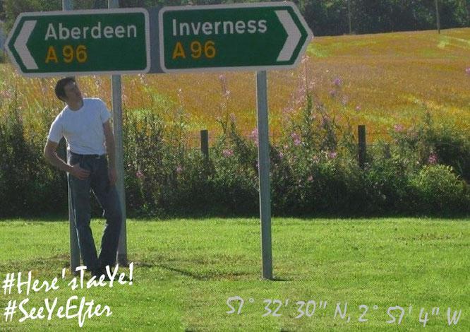 Goodbye aus Schottland...