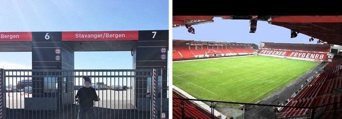 I visited Trolltunga, Kjerag & Preikestolen in Norway...and SK Brann Bergen (Sportsklubben Brann)!