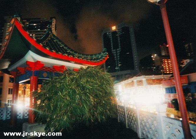 Touristisch, jedoch nicht charakterlos. Authentizität ging hier nicht völlig verloren: China Town...
