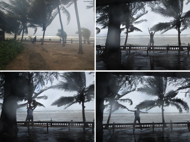 What is it like to experience a typhoon? My First Typhoon Experience, South Korea 대한민국 大韓民國 - 35° 53′ 20.58″ N, 127° 47′ 34.69″ E