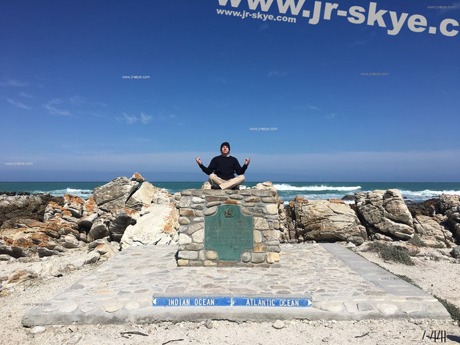 Southernmost Point of African Continent, Cape Agulhas, South Africa (34° 50′ 0″ S, 20° 0′ 0″ E). ← Cape of Good Hope 99,86 mi, ← Cape Town 110,11 mi, → Johannesburg 757,42 mi.