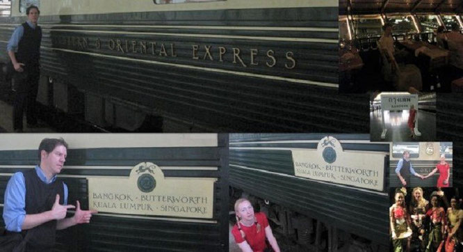 Thailand - Malaysia - Singapur: im Eastern & Oriental Express!