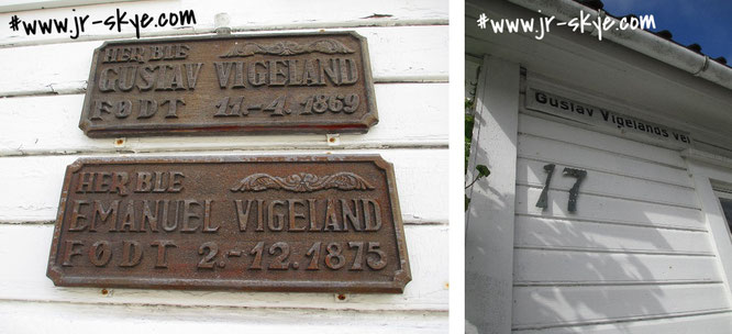 Gustav Vigeland Haus, Mandal...